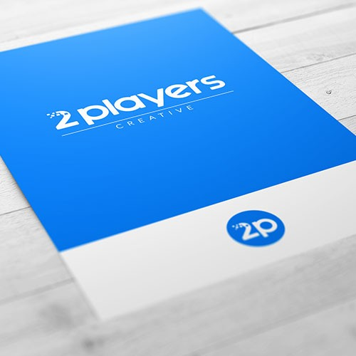 2players creative logo logotipo branding corporativo