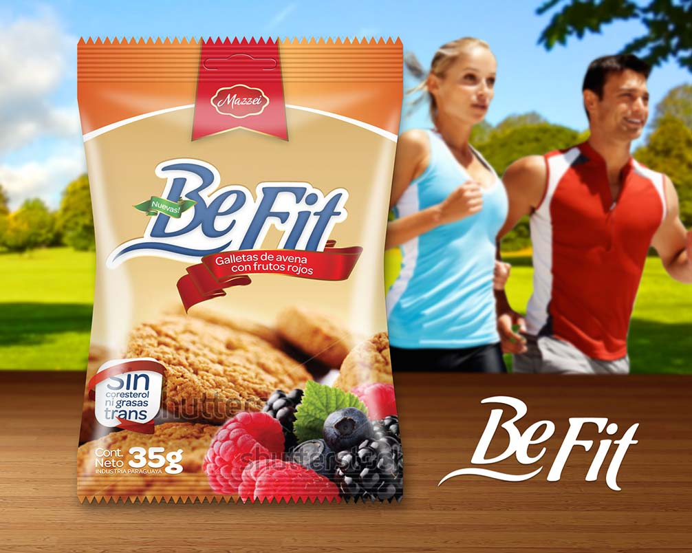 Be Fit - Galletitas - Mazzei - Galletas - Diseño de Packaging - Diseño de Logo - Branding - 2players creative - agencia de publicidad